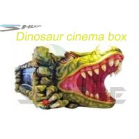 Quality Removable Mobile 5D Cinema With Hydraulic / Pneumatic System Motion Theater Chair wholesale