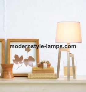 Easy Installation Modern Wood Lamp Indoor Lighting Electric Power Source