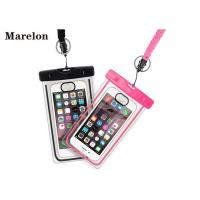 Quality Transparent Swimming Waterproof Cell Phone Cases With Lanyard Strap wholesale