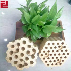 China High Alumina Checker Bricks Refractory Lattice Brick China Wholesale Manufacture on sale