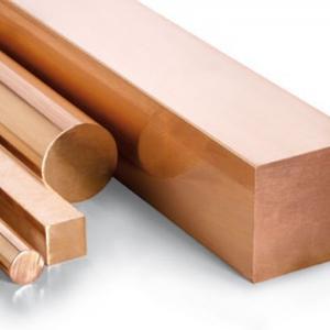 China C101 Jis H3250 Copper And Copper Alloys Round Bar  Copper Rod on sale