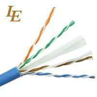 Quality Durable Network Lan Cable Cat 5e 4 In 1 PE Insulation Long Lifespan ROHS Approved wholesale