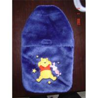 China Hot water bottle& cover on sale