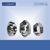 China Sanitary SUS 304 316L Stainless Steel Sanitary Fittings Male Union Liner RJT Hex Nut on sale