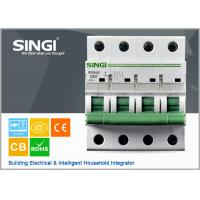 Quality 230V single phase 4P Miniature Circuit Breakers for protection overload and short circuit wholesale