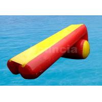 Quality 7m Long Inflatable Water Slide Made Of Durable PVC Tarpaulin wholesale