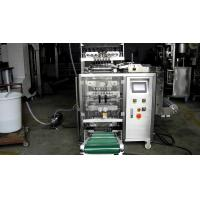 Quality 6 Lanes Automatic Liquid Packing Machine For  Water / Detergent , 3 / 4 Sides Seal Type wholesale