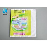 China Professional baby diaper printing plastic packaging bags / pouches on sale