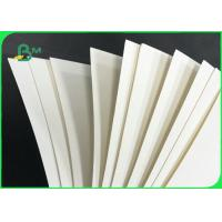 Buy cheap Highly Absorbent 18pt 25pt 35pt Cream White Coaster Board For Beer Mat from wholesalers
