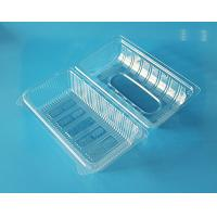 Disposable plastic fruit container cake packaging box bake packaging box food grade PET food packaging contaier FDA EU