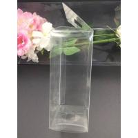 Cheap China Clear plastic boxes folding up PVC or PET box customized size packaging for sale