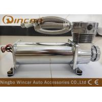 Quality Silver Suspension Auto Air Compressor , CE Approved Small Air Compressor For Tires wholesale