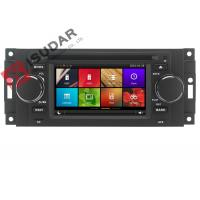 Quality Capacitive Touch Screen Chrysler 300c Dvd Player , Multimedia Car Entertainment System wholesale