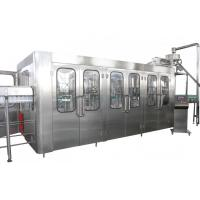Quality High Capacity Automatic Drink Production Line 8000BPH With CE Certificate wholesale