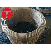 China Round Stainless Steel Coil Tube Evaporator For Equipment Of Beer & Drinks on sale