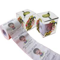 Quality image printed toilet paper   2ply  250 sheets  custom printed tissue roll 100% virgin pulp wholesale