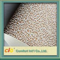 Quality Embossed Synthetic Waterproof Bag PVC Artificial Leather for wall decoration wholesale