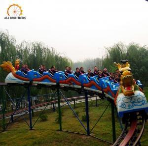 Quality Interesting Amusement Park Roller Coaster Sliding Dragon Ride 25 * 16 M wholesale