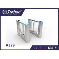 Quality Retractable Flap Barrier Office Security Gates Anti - Temperature And Sunscreen wholesale