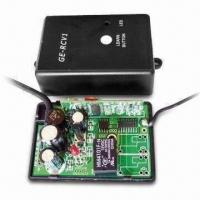 Quality 433.92MHz 4-channel Receiver for Garage Door Openers, Built-in MCU Hopping Code Decoder wholesale