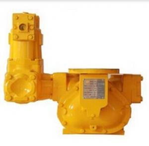 Diesel fuel flow meter with strainer & air eliminator