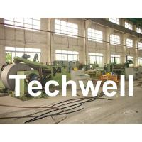 Quality Automatic Slitting Machine Line Composed of Uncoiler, Pinch / Leveling, Slitting, Recoiler wholesale