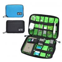 Quality Digital Cable Organizer Travel Storage Bags Size  Customized With Zipper wholesale
