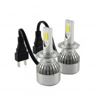 Quality Universal 12V LED Headlight Hot Car COB C6 Led Headlight With H7 6500K wholesale
