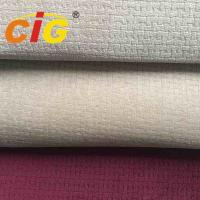 Buy cheap 100% Polyester  150cm width and 200gsm with 4mm foam burn-out auto Fabric For Seat Cover from wholesalers