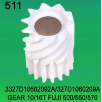 Quality 3327D10602092A / 327D1060209A GEAR TEETH-10/16 FOR FUJI FRONTIER 500/550/570 minilab wholesale