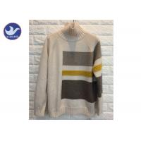 Quality High Neck Fashion Pattern Womens Knit Pullover Sweater Thick Winter Jumper wholesale