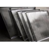 China Food Grade BBQ Woven Stainless Steel Wire Mesh Trays , Mesh Baking Tray on sale