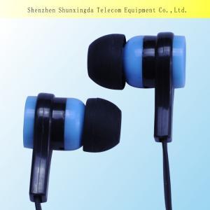 Quality 2015 SXD Sport earphone,earphone with mic,silicone earphone rubber cover earphones wholesale