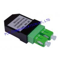 Quality SC Singlemode Fiber Optic Patch Cord Loopback SC / APC Low Insertion Loss wholesale