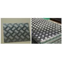 Quality 6061-T6 Five Bar Aluminium Checker Plate For Anti Slip Floor Board High Strength wholesale