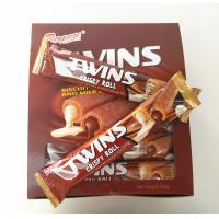 Quality Twins Crispy Roll Buscuits With Chocolate And Milk Center / Sandwich Biscuit wholesale