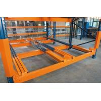 Quality Warehouse steel rack push back pallet racking wholesale
