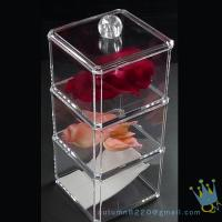 Quality clear acrylic cosmetics organizer wholesale