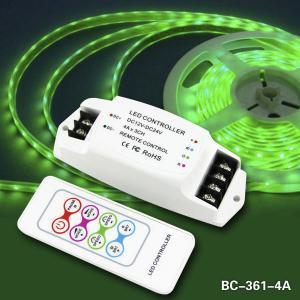Quality Remote Control LED RGB 4A*3channels led strip rgb controller wholesale