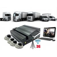 Quality 3G WIFI 4Ch GPS HDD MDVR Vehicle Security Camera System bus / truck wholesale