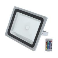 China 50w , 80w , 100w high power RGB led remote controlled outdoor flood lighting  with RF Controller on sale