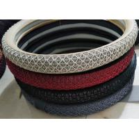 Quality Cool in summer warm in winter black grey beige car steering wheel covers wholesale