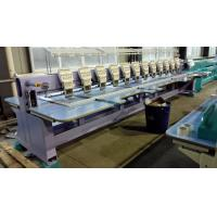 Quality Flat Computerized Embroidery Machine Without Cutter / Trimmer GG612 wholesale
