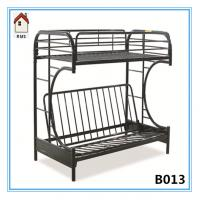 China C shape metal double bunk bed metal sofa bunk bed B013 on sale