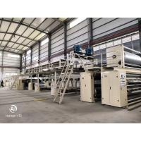 Quality WJ150-2500 3 Layer Corrugated Cardboard Production Line with Italian technology and customization wholesale