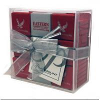 Quality Environmental acrylic display case , acrylic gift case with lid wholesale