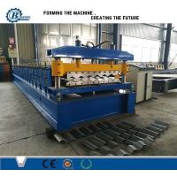 Quality Buiding Material Big Wave Steel Corrugated Roof Sheet Roll Forming Machine wholesale
