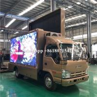 Quality Mobile Billboard LED Advertising Truck Display P4 P5 P6 For Road Show wholesale