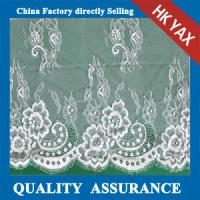 Quality bridal dress lace fabrics in off-white make-to-order White wedding dress wholesale