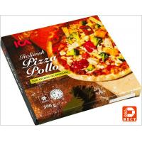Quality Italian Eco Friendly Empty Large Pizza Boxes 12 Inch Glossy Varnishing Surface wholesale